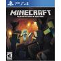 Minecraft Ps4 Nuevo Físico Sellado Xstation