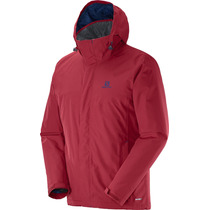 Campera Salomon Elemental Insulated Abrigo Rompevientos Homb