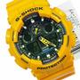 Reloj Casio G-shock Ga100a Amarillo