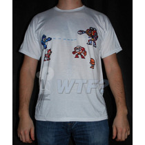 Remera Sublimada Mega-man - Video Game Retro