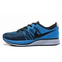 Zapatillas Nike Flyknit Trainer Azules - Hombre
