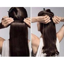 Clip On Tevecompras - Cortinas Extensiones De Pelo Natural