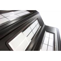 Fabrica Puerta Plegable De Pvc 1/2 Vidrio Reforzada 84x200
