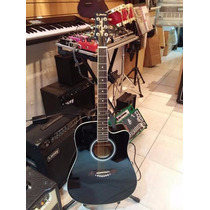 Guitarra Electroacustica Shelter Lf-4110 C/funda
