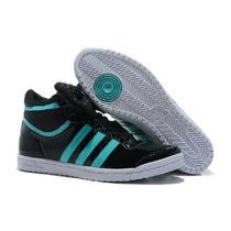 Botitas Adidas Top Ten Hi Sleek. El Moño Se Puede Sacar.