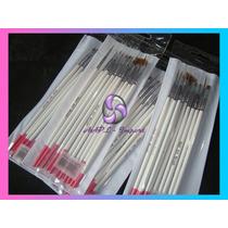 Pinceles X11 Piezas Nail Art Decoracion Uñas Dotting