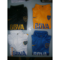 Buzo Negro Azul Amarillo Y Blanco Boca Juniors 2016