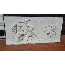 Escultura Alto Relieve En Marmol De Carrara