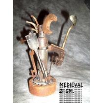 Escultura En Hierro Reciclado
