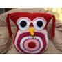 Almohadon De Buho Al Crochet