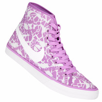 Nike Primo Court Mid Cvs Print (u8) (uk7) Cm25 2119
