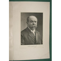 Federico Pinedo Grabado Alemania Libro Antiguo Argentina