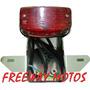 Farol Trasero C/soporte Custom 150 Varios En Freeway Motos !