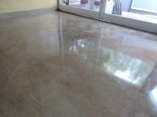 Laca brillante microcemento cemento alis alto transito x 5 - Microcemento precio ...