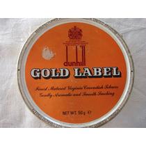 Tabaco Pipa Dunhill Gold Label Cerrada Y Sellada Antigua