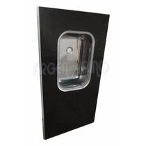 Argen Pino Mesada Granitex 1,60 Marmol Reconstruido B/ Acero