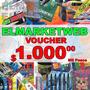 Voucher $1000 En Productos De Libreria E Insumos Elmarketweb