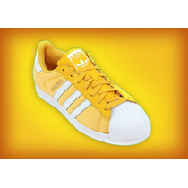 Zapatillas Superstar Amarillas