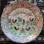 Gran Plato De Porcelana China - Canton