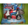 Muñecos De Vengadores En Karting!!!!!