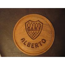 Souvenir Original Plato De Madera Grabado Laser