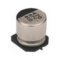 Capacitor 470 Uf 25 V 105º Panasonic Aluminio Smd
