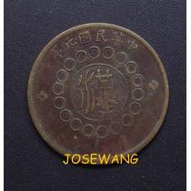 50 Cash. Moneda Antigua De China Del Año 1912