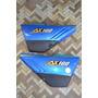 Cachas Laterales Suzuki Ax100 Juego Rojo Azul O Negro