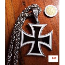 Cruces Pate Cruz Malta Con Cadena Tejida