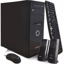 Pc De Escritorio Pcbox 4gb-500gb-graba Dvd-lect Tarje