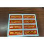Logo Momo Resinado, Calcomania , Banderita Auto,tuning