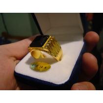 Swarovski Edicion Limitada Anillo Hombre Oro 18k Maziso .