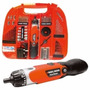 Black And Decker Fdx100 Kit Atornillador 110 Piezas Maletin