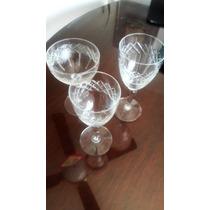 Copas Para Agua, Vino Y Champagne De Cristal
