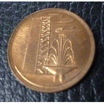Singapur Moneda 1 Centavo 1980