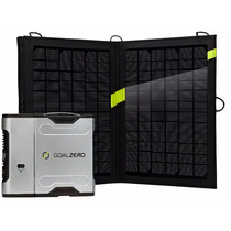 Kit Cargador Solar Sherpa 50 Goal Zero + Panel Nomad 13