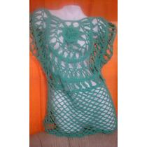 Remeras Tejidas Artesanales En Crochet Horquilla