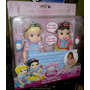 Disney Mattel My First Princess Cenicienta Y Blanca Nieves!!