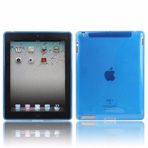 Funda Ipad 2-3-4 Tpu Color Flexible Anti-golpes Soft