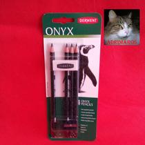 Onyx Derwent - Lapices De Grafito Oscuro - Zona Obelisco