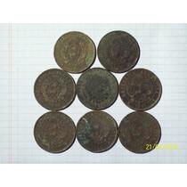 Patacon 2 Centavos Colección 1883-84-89-90-91-92-93-94