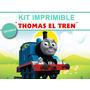 Kit Imprimible Editable Thomas El Tren, Golosinas Candybar