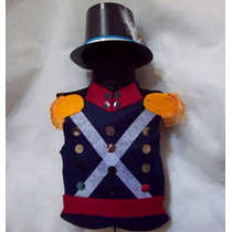 Disfraz Soldado Patricio Pechera Y Galera Niño 9 A 12 Años