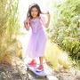 Vestido Disfraz Rapunzel. Original Disney Store T 5/6 Años