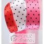 Cintas De Tela X Metro Candybar Lunares Minnie Mickey