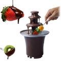 Cascada De Chocolate Fuente Electrica Fondue Queso Eventos 1