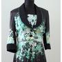 Elegante Vestido Con Saco Civilcasamiento Cannella - Envios
