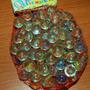 60s Bolsa Bolita De Vidrio (70u) Marble Glass Korea Antiguas