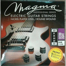 Cuerdas De Guitarra Eléctrica Ge-110n Magma 09 09-42 Nickel