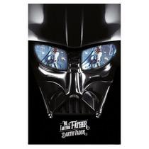 Star Wars Dark En Tela Canvas De 80x50 Cm
